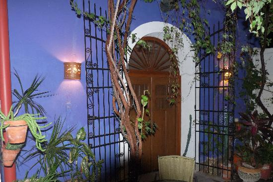 Hotel Julamis: la porte de la chambre