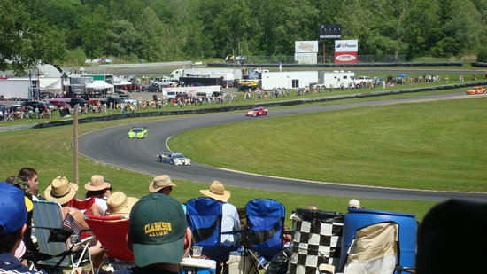 Lakeville, CT: Grand-Am Daytona Prototype / GT combined-class race - May 2010.