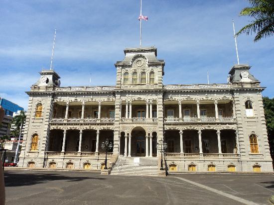 이올라니 궁전 사진
