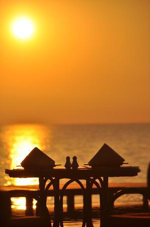 Amazing Ngapali Resort : Restaurant Sonnenuntergang
