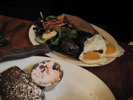 Magnolia: Steak and banana bread