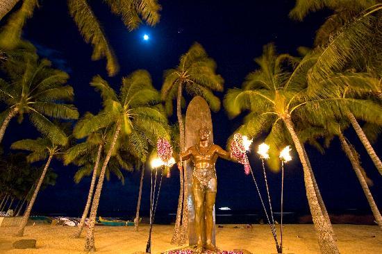 Duke Kahanamoku Statue, Waikiki, Oahu