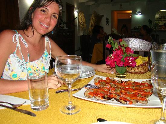 Posada Guaripete: Deliciosa Entrada