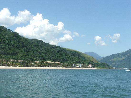 Portobello Resort & Safari: Hotel desde el barco