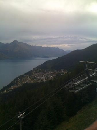 Dart Stables: top of queenstown looking toward glenorchy and the misty mountains