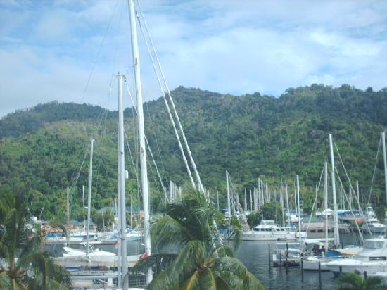 Crews Inn Hotel & Yachting Centre: Breath taking view
