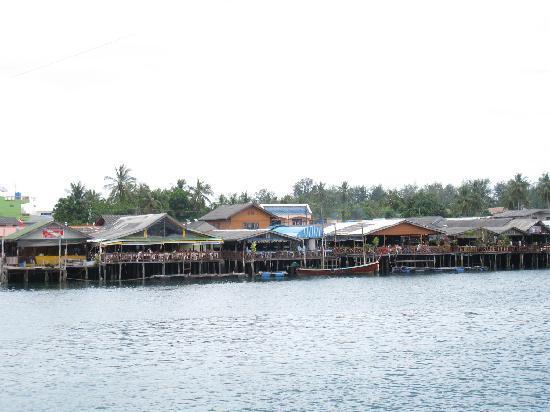 Lanta Mermaid Boutique House: Coming into Ko Lanta on the Ferry