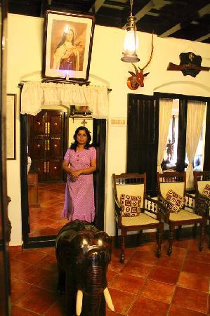 The Bungalow Heritage Homestay : neema and her guest hall