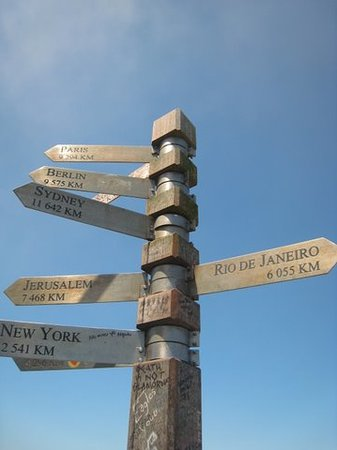AWOL Tours: Signs in Cape Point