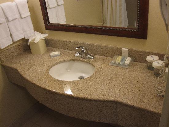 Hilton Garden Inn Ontario / Rancho Cucamonga : Sink