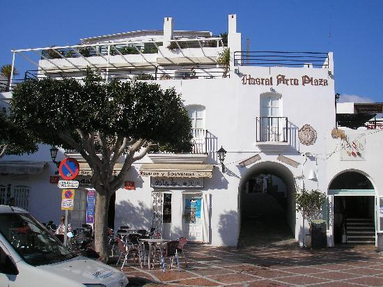 Arco Plaza: Fachada.