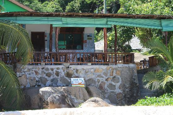 Anse Soleil Restaurant: Anse Soleil Cafe from the beach