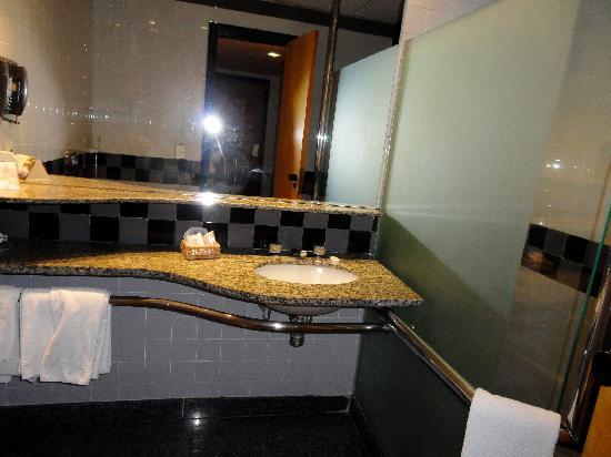 South American Copacabana Hotel: The bathroom