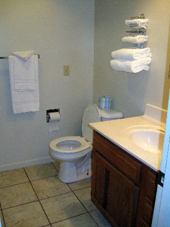 Point Randall Resort: Clean Bathroom