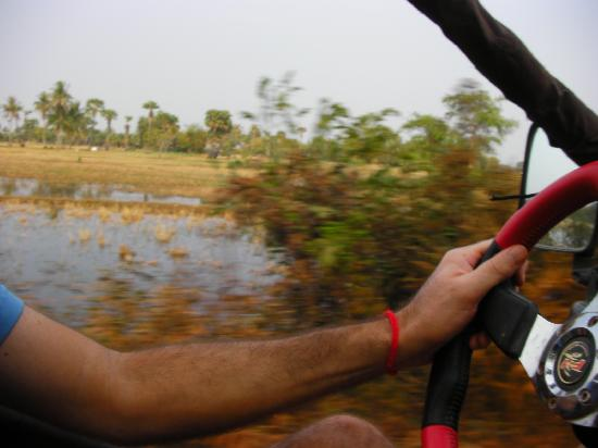 Cambodia Buggy Adventures: in the countryside