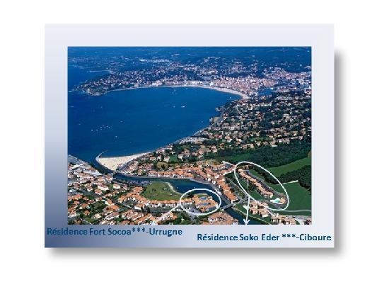Ciboure, Frankreich: Baie de St Jean - Résidence en Bas à droite