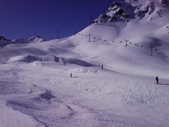 Sunstar Alpine Familienhotel Davos: Skigebiet Parsenn