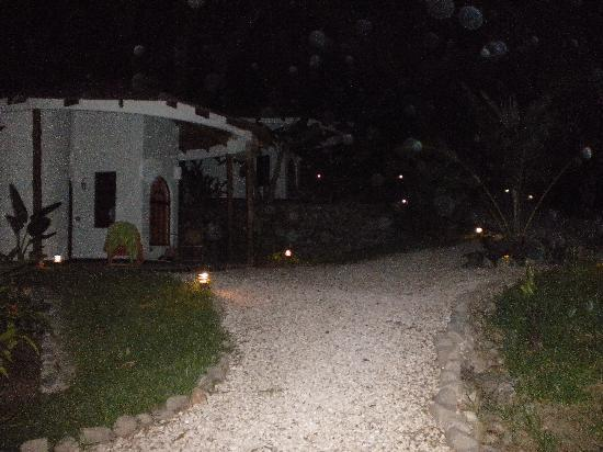Manala Hotel: night time at hotel