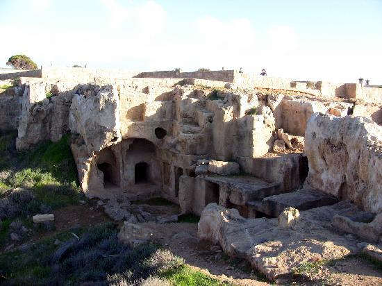 small tombs - Picture of Tombs of the Kings, Paphos ...
