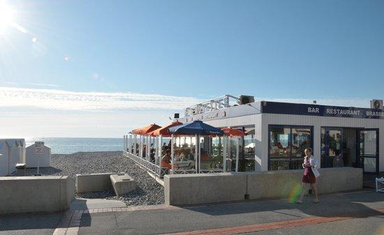 Mers Les Bains, France: vue esplanade