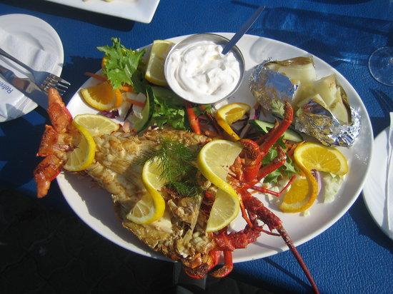 Isabella's Restaurant : lekker greyfish
