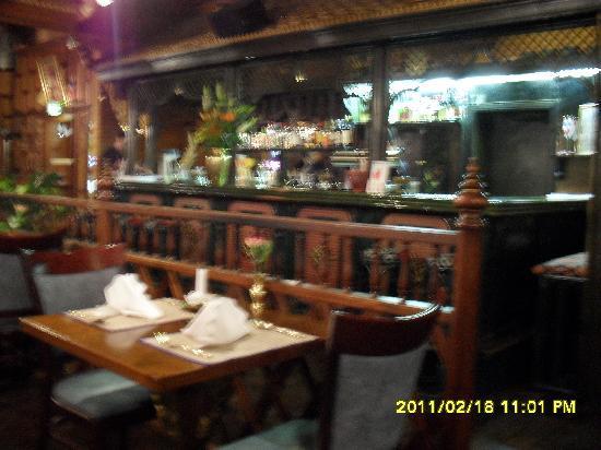 Baan Thai : Baan-Thai Restaurantblick