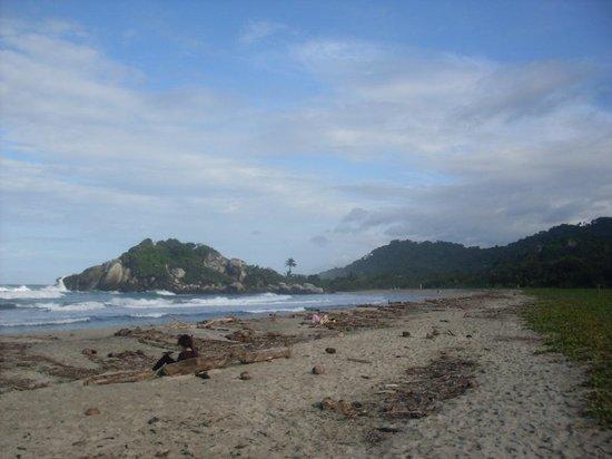 Camping Tayrona: Arrecifes