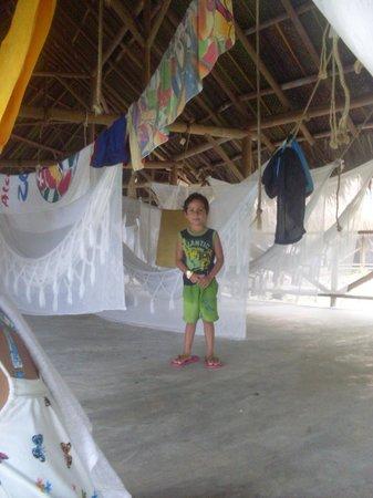 Camping Tayrona: Zona de hamacas Aviatur