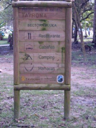 Camping Tayrona: Sector YULUKA Aviatur
