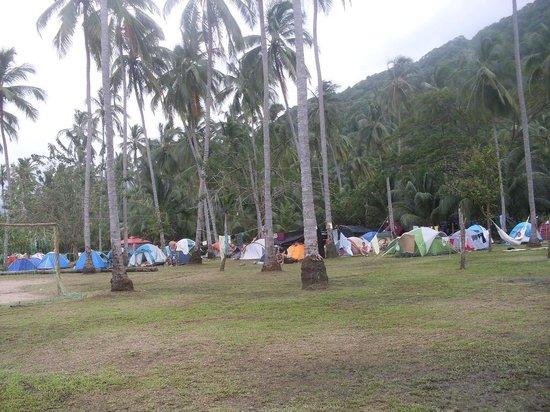 Camping Tayrona: Camping Cabo