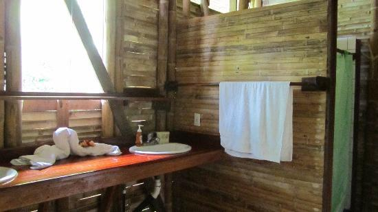 Casa Bambu Resort: Larger bathroom