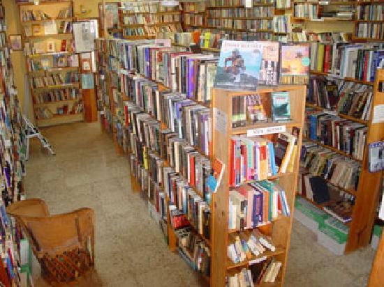 Alma Libre Bookstore : Lots of books to choose from!
