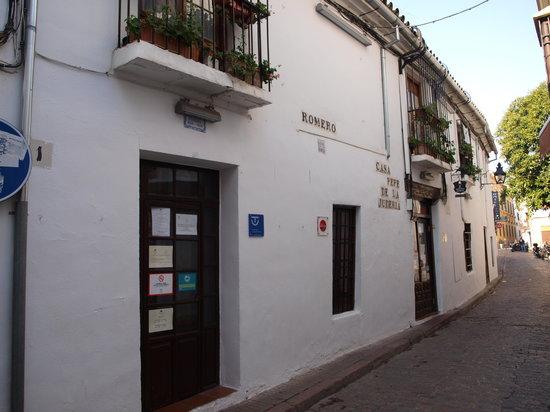 Casa Pepe de la Juderia: Exterior del restaurante Pepe el de la Judería