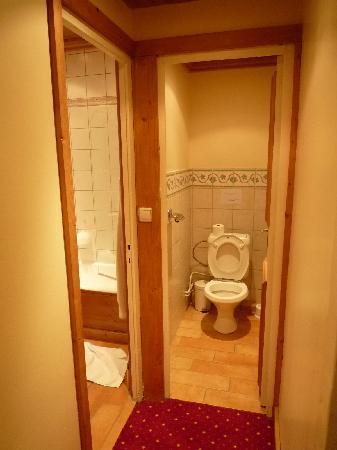 Park Hotel Suisse & Spa: separate toilet