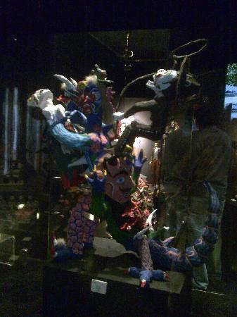 Museo Nacional de la Muerte. Aguascalientes. Mexico. Juegos y juguetes