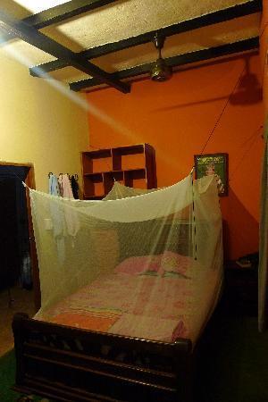 La Casa de Felipe: Notre chambre, moustiquaire déployée !