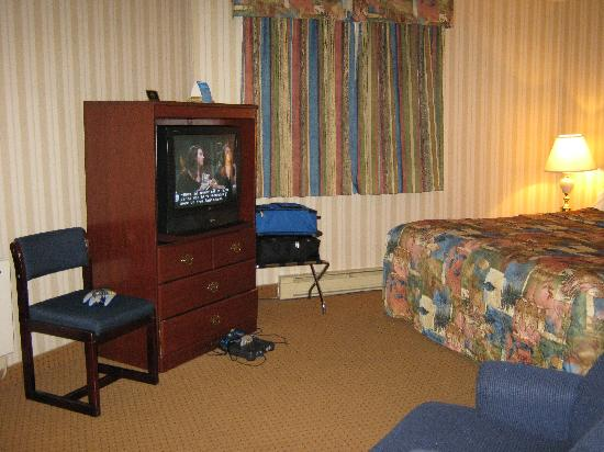Quality Hotel & Suites: Téléviseur