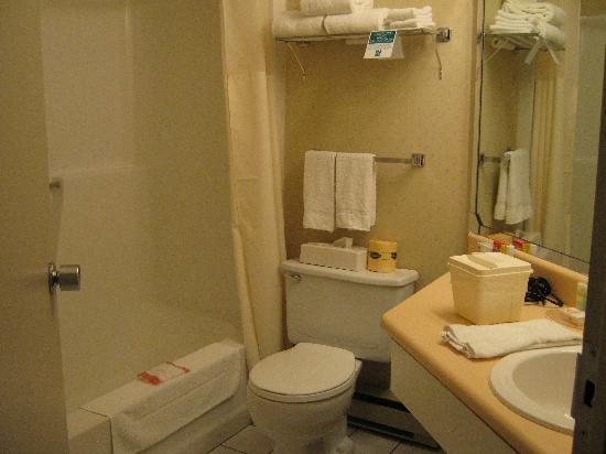 Quality Hotel & Suites: Salle de bain