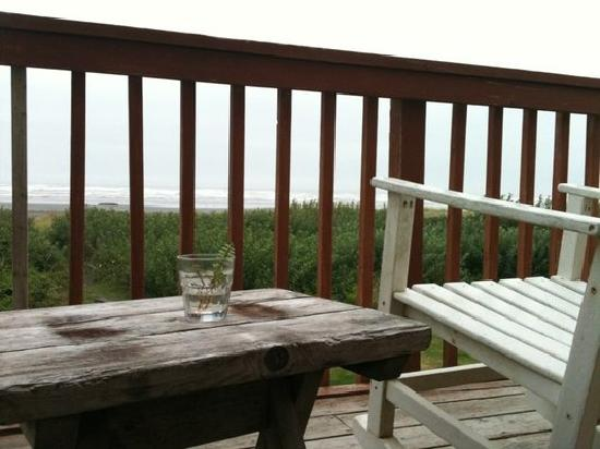 Sandpiper Beach Resort: View from A-frame's balcony
