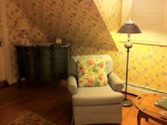October Country Inn: Our room on our first stay