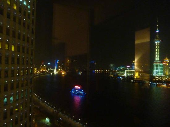 Les Suites Orient, Bund Shanghai: Night view from room