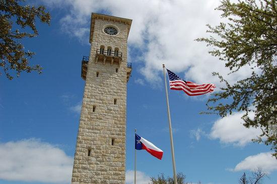 San Antonio, TX: The clock tower.