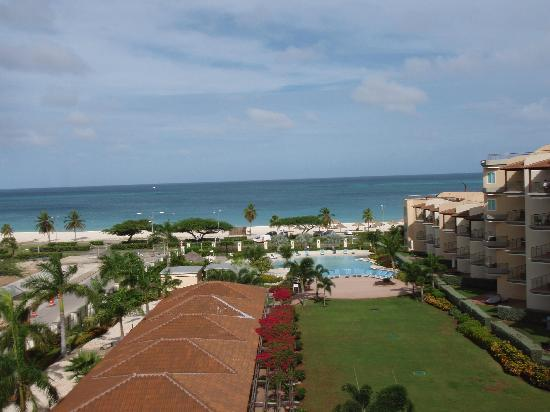 Oceania Deluxe Beachfront Resort by Prestige: View from our balcony
