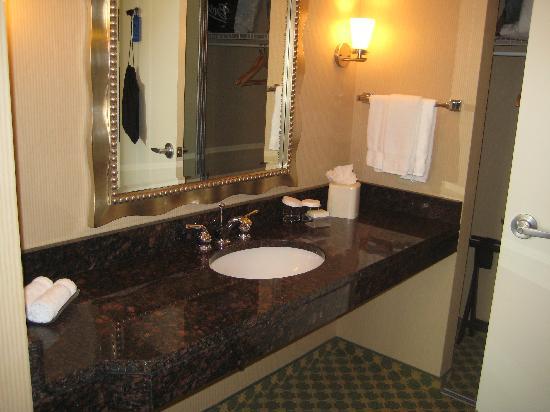 Live! Lofts : small part of bathroom