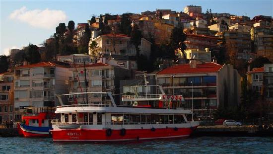 Tyrkiet: Cruise along Bosphorus
