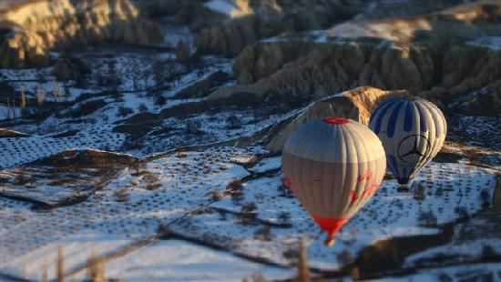 Turkey: Cappadocia Air Balloon ride