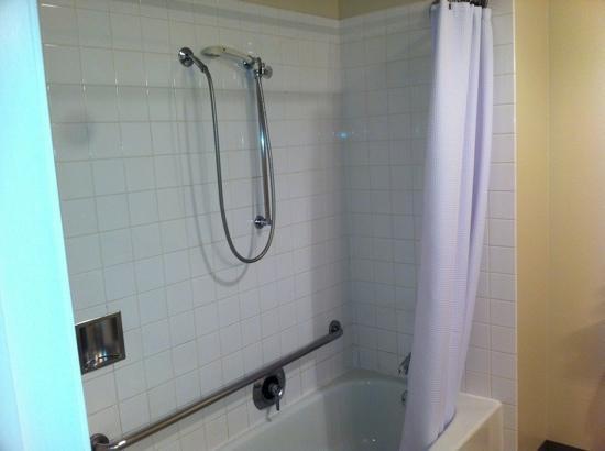 Coast Wenatchee Center Hotel: hotel bathroom