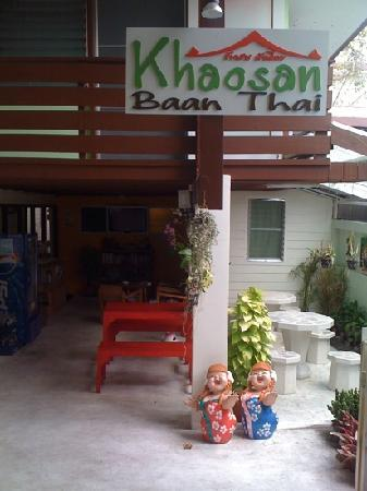 Khaosan Baan Thai: the front