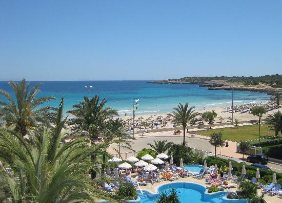 Hipotels Hipocampo Playa Hotel: Ansicht vom Balkon