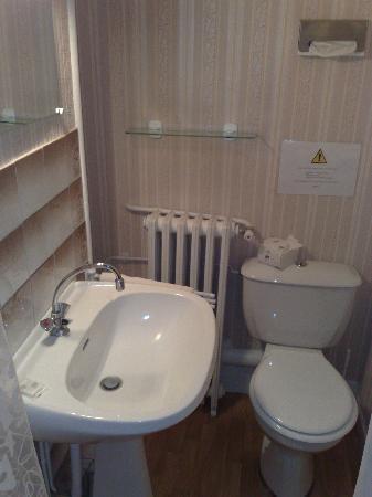 Hotel le Saint-Joseph : chambre avec WC, vue 2
